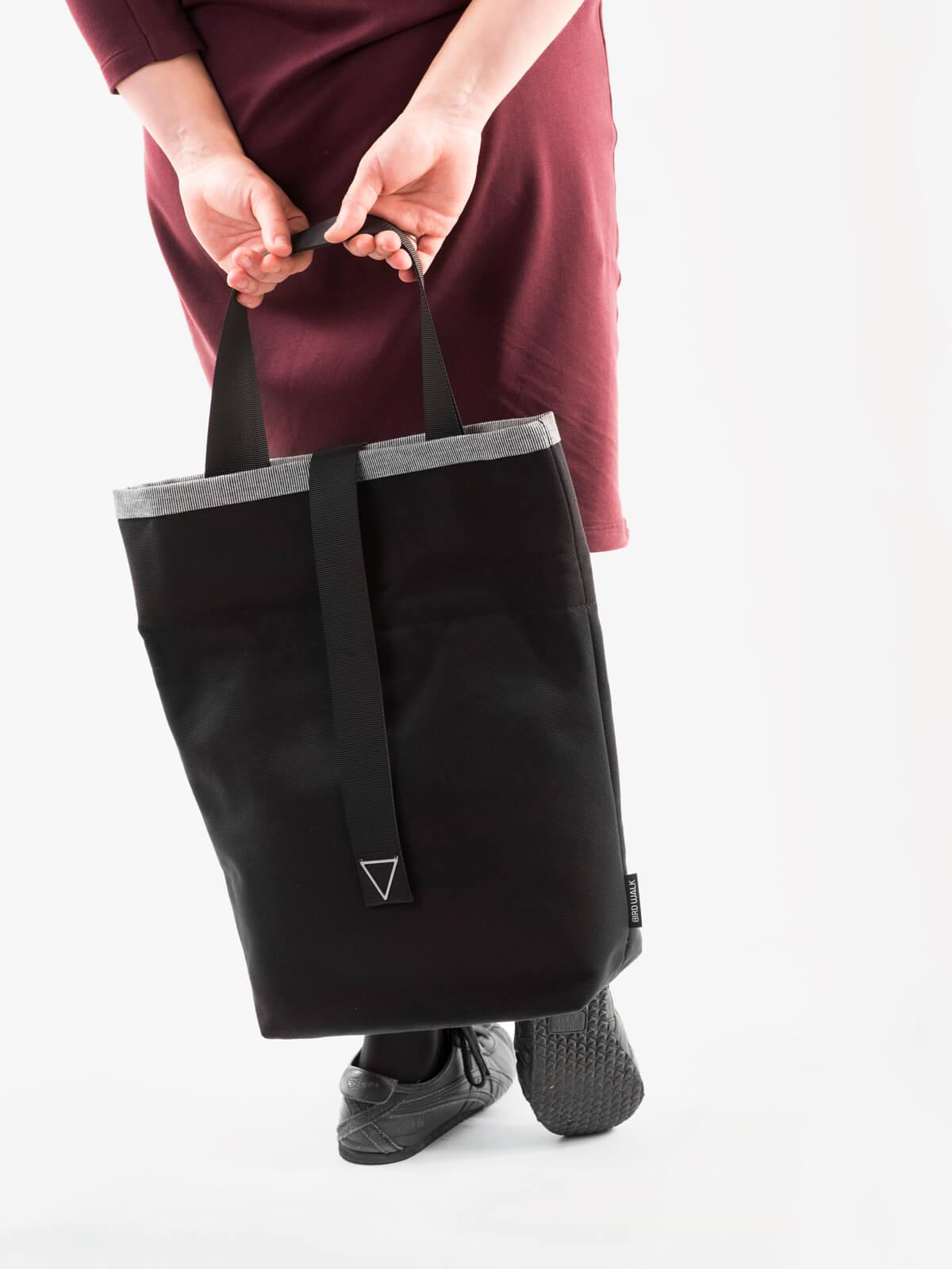 vegan sustainable organic cotton tote bag foldable to handbag Portugal