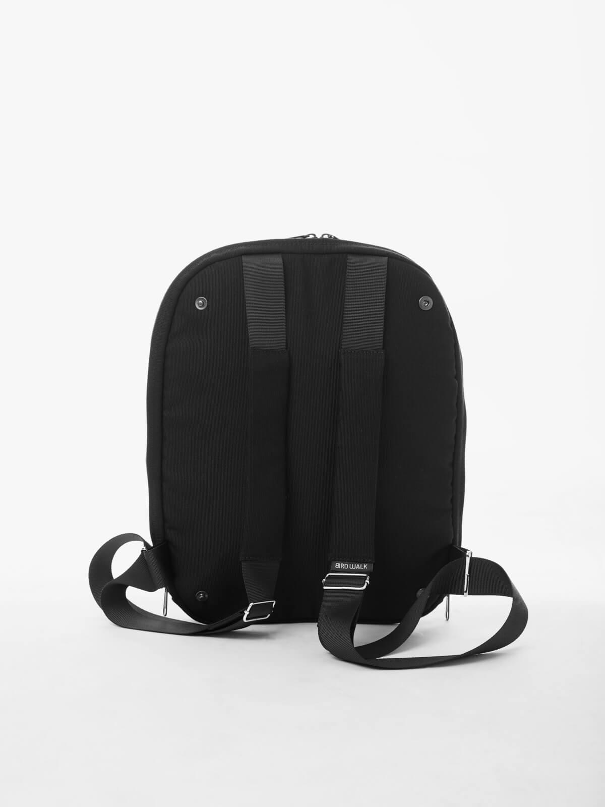 birdwalk laptop backpack shoulder bag black