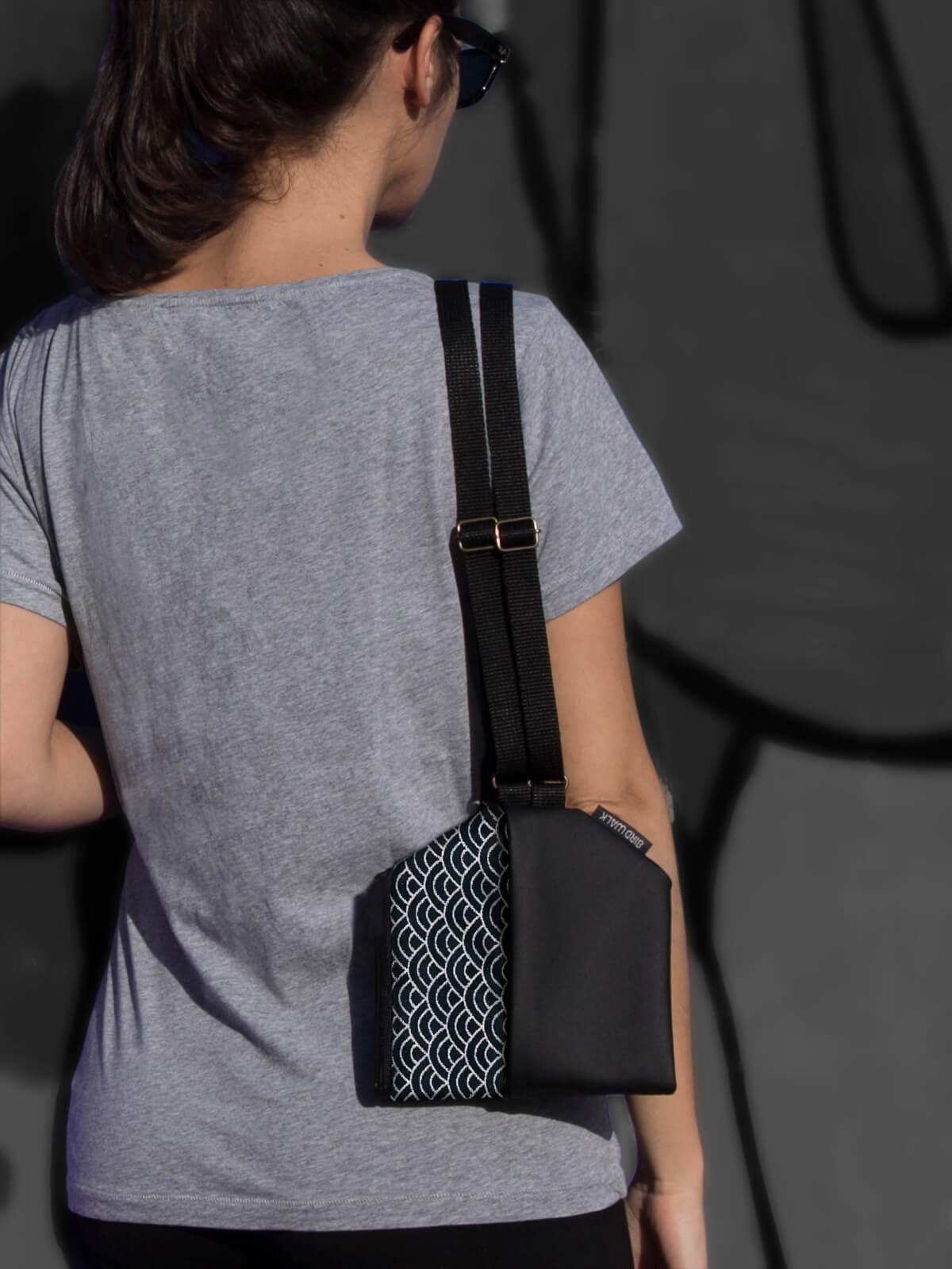 mala de ombro conversível em mochila made in Portugal